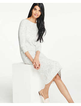 Ribbed Knit Sweater Dress by Ann Taylor