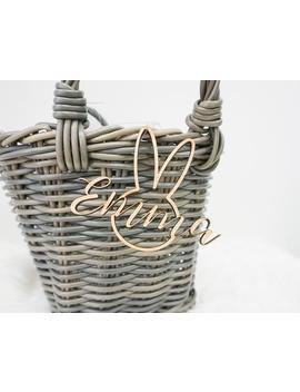 Easter Basket Name Tag Custom Easter Basket Tag Personalized Easter Basket Name Tag Name Easter Basket Gift Tag Easter Decor Basket Stuffer by Etsy