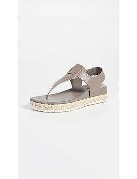 Flint Flatform Thong Sandals by Vince