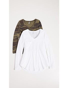 Camo & Solid Tee   Two Pack by Z Supply