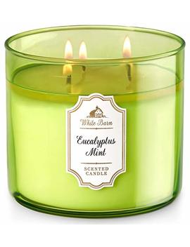 Bath & Body Works White Barn 3 Wick Candle In Eucalyptus Mint by White Barn