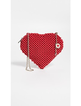 Heart Crossbody Bag by Moschino