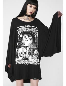 The Witch Kimono Tunic by Dolls Kill
