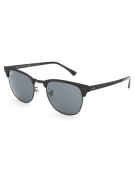 Ray Ban Clubmaster Metal Black & Black Gradient Sunglasses by Ray Ban