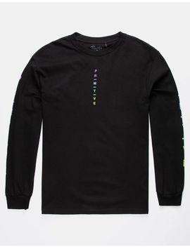 Primitive Moods Gradient Black Mens T Shirt by Primitive