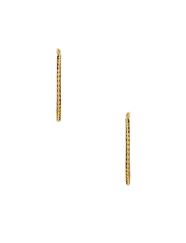 Livi Rope Hoops by The M Jewelers Ny