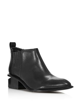 Women's Kori Leather Ankle Booties by Alexander Wang