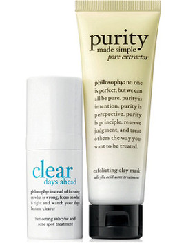 Help On The Spot Purifying Mask + Fast Acting Spot Treatment Duo by Philosophy