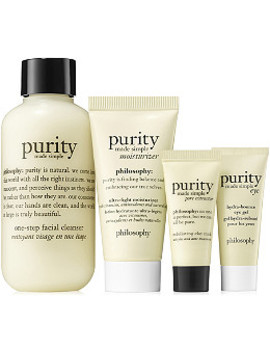 Purity All Ways Cleanse Mask & Moisturize Mini Kit by Philosophy