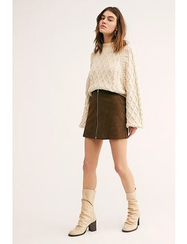 Impala Suede Mini Skirt by Free People