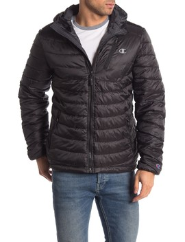 Packable Puffer Jacket by Champion