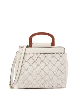 Kiley Woven Shoulder Bag by Nanette Lepore