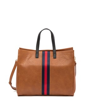 Stripe Tote Bag by Urban Expressions