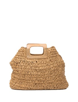 Daniela Straw Tote Bag by Pink Haley