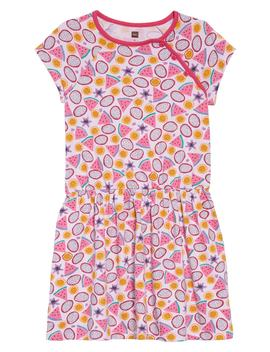 Tropical Fruit Raglan Dress by Tea Collection