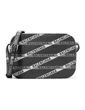 Everyday Xs Aj Printed Coated Canvas Camera Bag by Balenciaga