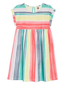 Stripe Empire Dress by Tea Collection