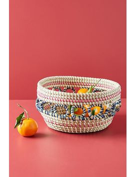 Nava Basket by Anthropologie