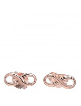 Tiffany 18 K Rose Gold Infinity Earrings by Tiffany