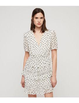 ilia-dot-dress by allsaints