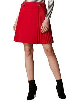 Pleated Mini Skirt by Karen Millen