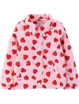 Heart Bomber Jacket by Carter's