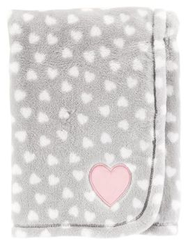 Heart Plush Blanket by Carter's