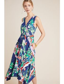 Iyanla Mix Print Wrap Dress by Maeve