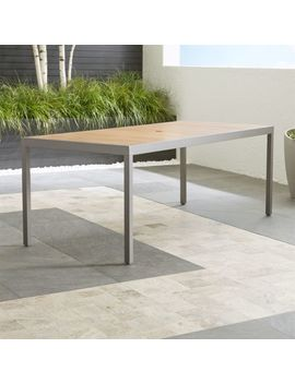Alfresco Ii Natural Rectangular Dining Table by Crate&Barrel