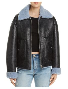Reversible Shearling Jacket by Mc Q Alexander Mc Queen