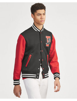 P Wing Baseball Jacket by Ralph Lauren