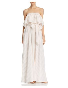 Aweke Strapless Popover Maxi Dress by Lemlem
