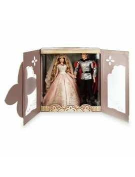 Disney Sleeping Beauty Aurora  Platinum Wedding Doll Set Limited Edition Of 650 by Disney