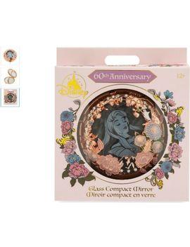 Disney   Sleeping Beauty Glass Compact Mirror   60th Anniversary   New by Ebay Seller
