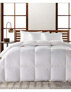 European White Goose Down Lightweight Full/Queen Comforter, Hypoallergenic Ultra Clean Down, Created For Macy's by Hotel Collection