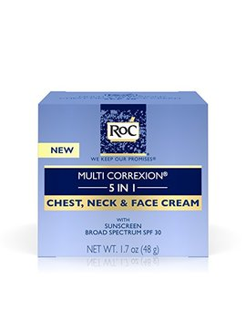 Ro C Multi Correxion 5 In 1 Anti Aging Chest, Neck And Face Cream With Spf 30, Moisturizing Cream Made With Vitamin E, 1.7 Oz by Ro C