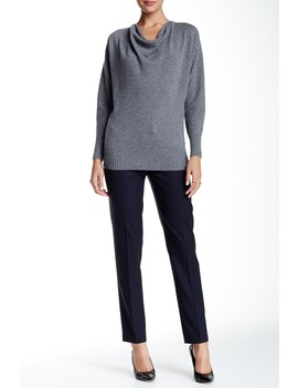 Wool Blend Ankle Pant by Lafayette 148 New York