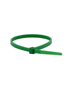 Monoprice Cable Tie 8 Inch 40 Lbs, 100pcs/Pack   Green by Monoprice