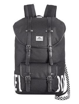 Men's Logo Utility Backpack by Steve Madden