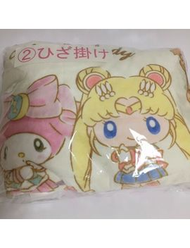Sailor Moon And My Melody Japan Limited Prize Throw Blanket Seven Eleven Japan by Ebay Seller