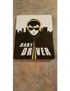 Baby Driver Steelbook Best Buy Exclusive Oop Blu Ray Disc Only, No 4 K Disc by Ebay Seller