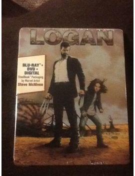 Logan Blu Ray Plus Dvd Plus Digital Steelbook by Ebay Seller
