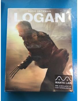 Logan Blu Ray Steelbook Manta Lab Full Slip Edition New, Marvel by Ebay Seller