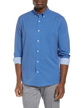 Trim Fit Performance Sport Shirt by Nordstrom Men's Shop