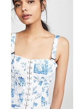 Monika Hook Front Mini Dress by For Love & Lemons
