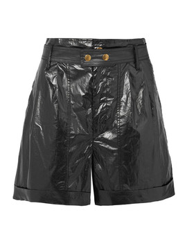 Tweni Coated Cotton Shorts by Isabel Marant
