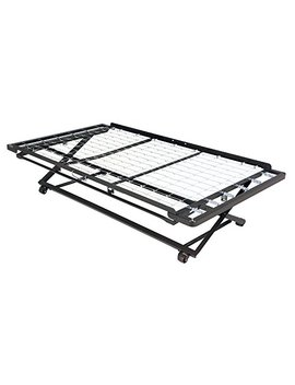 Leggett & Platt Pop Up 39 Inch Link Spring Trundle Bed With Dual Gravity Locks, Twin by Leggett & Platt Consumer Products Group