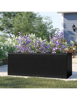 Barclay Rectangle Fiberglass Planter Box by Sol 72 Outdoor