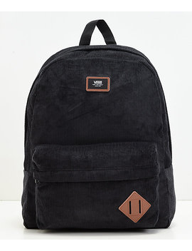Vans Old Skool Ii Black Corduroy Backpack by Vans