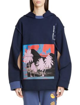 Waves Convertible Cape Hoodie by Ambush